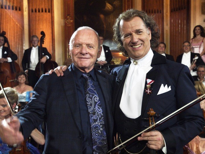 Anthony Hopkins first heard the waltz composed by himself fifty years ago