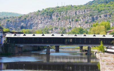 Kolyo Ficheto's masterpiece - The Covered Bridge in Lovech