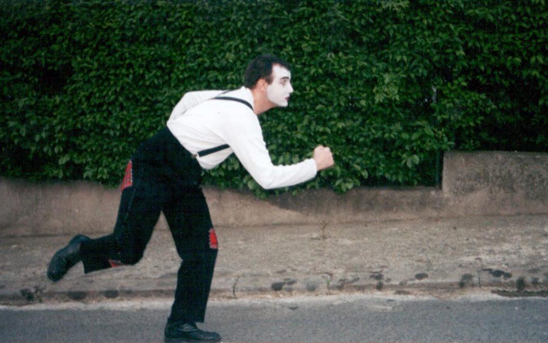 Пантомима – бялото лице на въображението ни