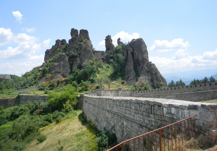 Belogradchik rocks - one of the wonders of the world