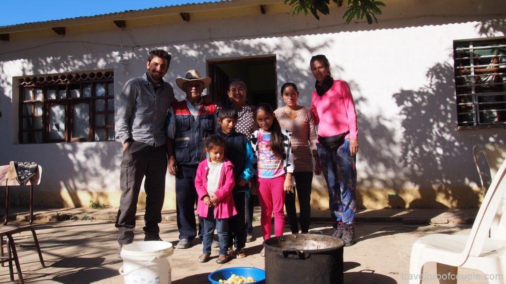 семейство в Сайпина