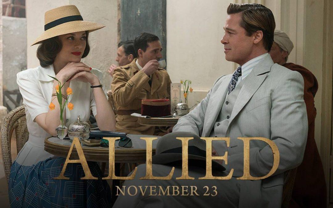 """Романтичният трилър """"Съюзници"""" с премиера на 23-ти Ноември"""