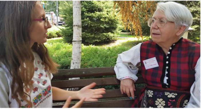За Женското начало, Богинята Майка и народните шевици – интервю с Юлия Боева