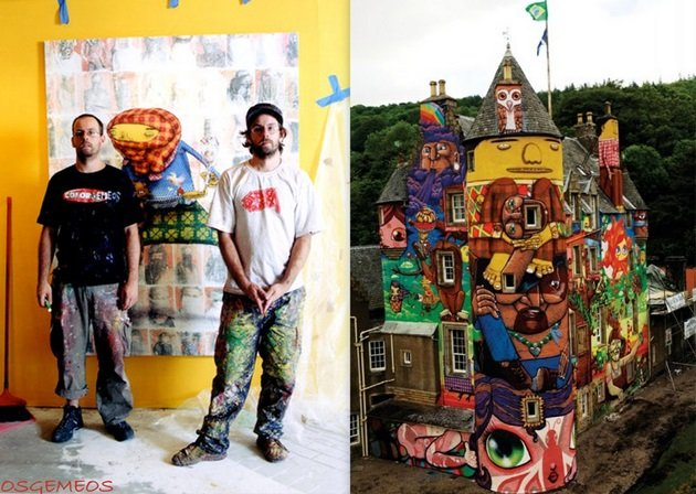 "Os Gemeos - ""One World, One Voice"""