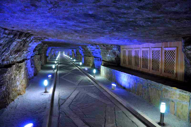 Nakhchivan's Duzdag - the magical salt cave