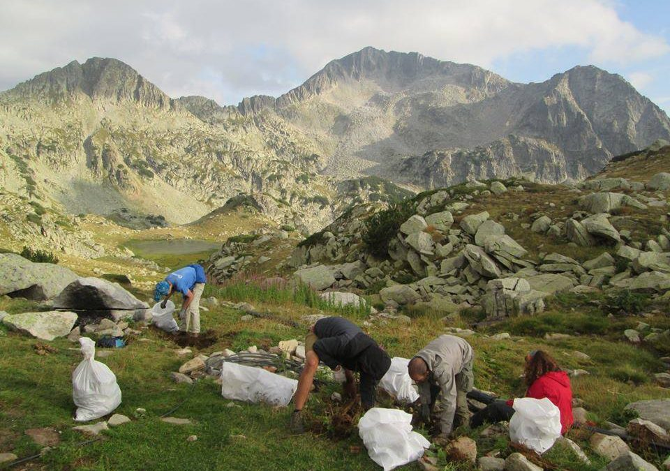 Cleaning of Pirin National Park - 20 Years of High Mountain Cleaning