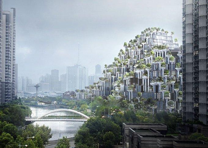Висящите градини на Семирамида в Китай оживяват за нов живот