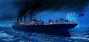 Титаник, айсберг, трагедия