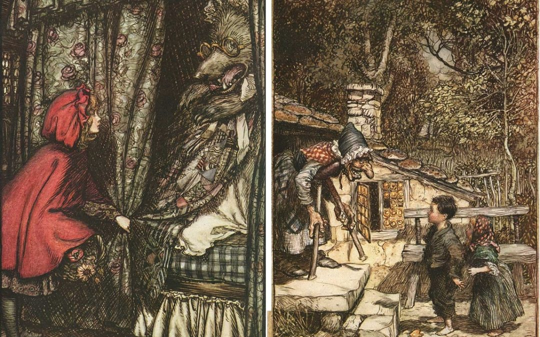 The dark side of the Grimm brothers' stories
