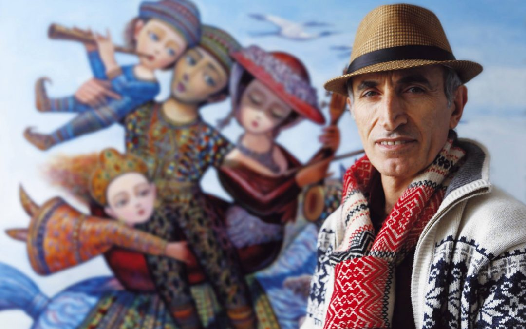 The pictures of Sevad Grigoryan's fairy tales
