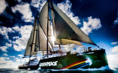 """Легендарният ветроход на """"Грийнпийс"""" – """"Rainbow Warrior"""", акостира във Варна и Бургас от 3-ти до 9-ти юни"""