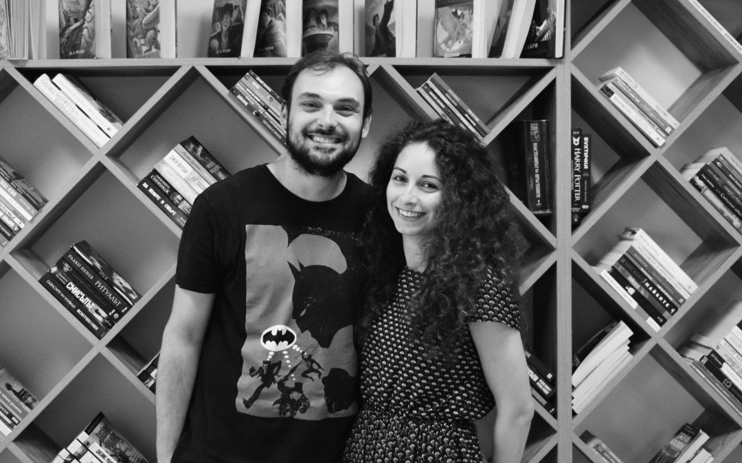 """Blagovest Hristov and Yanitsa Petrova: """"We believe that this is what the cultural and spiritual capital of Bulgaria has been missing so far ..."""""""