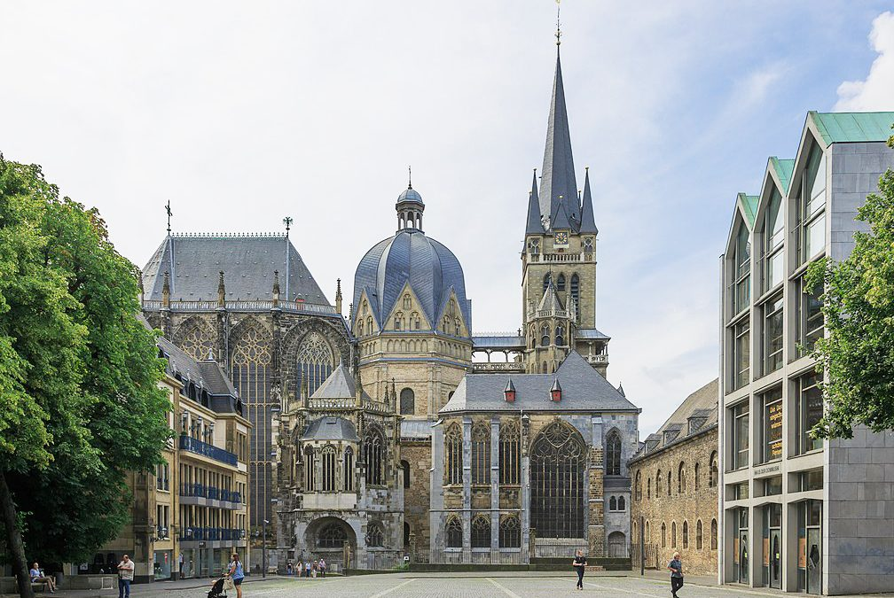 Aachen Cathedral - the oldest in northern Europe