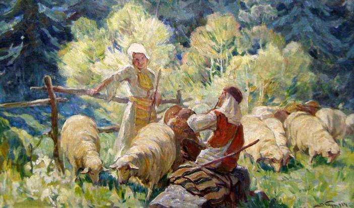 Любовта в българското народно творчество