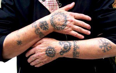 Балкански традиции в женските татуировки