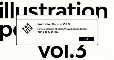 Digital edition: Illustration Pop-Up Vol.3 Online Exclusive
