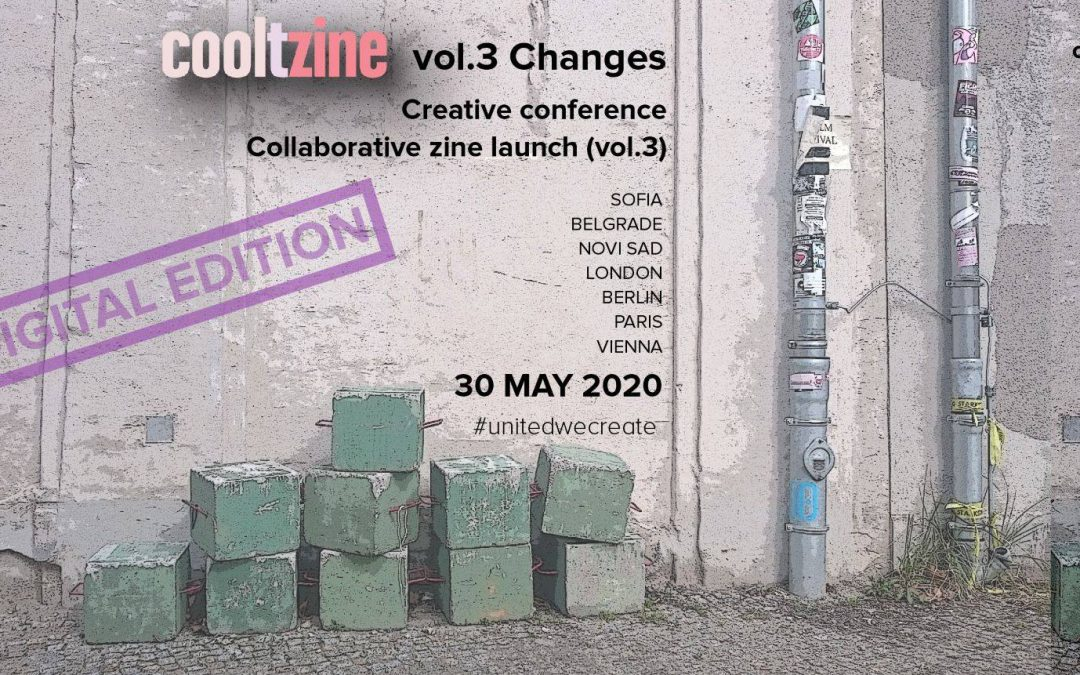 """""""Култсалон"""" представя """"Култзин"""" – творческа онлайн конференция / 30-ти май, 2020 г."""