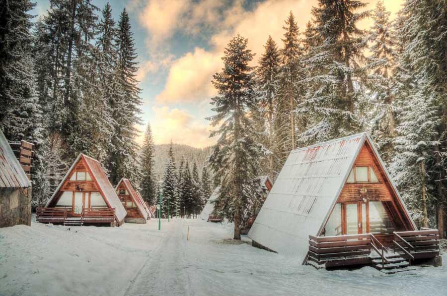 Български къщи и хотели от приказките
