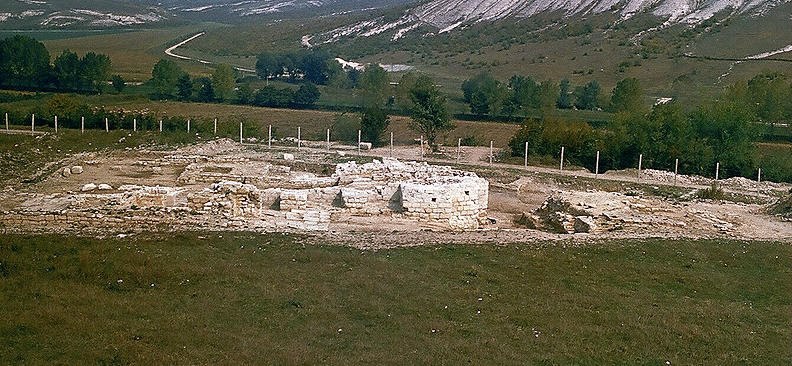 "The Prince's Monastery near the village of Ravna - the ""stone library"" of the Bulgarians"